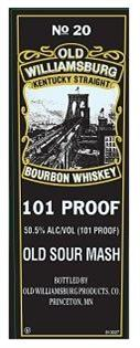 Old Williamsburg Bourbon 101@ 750ml
